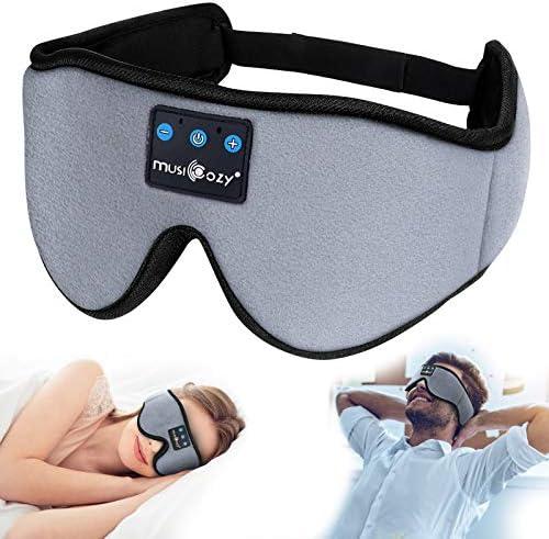 Sleep Headphones 3D Bluetooth Sleep Mask MUSICOZY Wireless Music Eye Mask with Sleeping Headphones product image