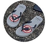 Zapatillas de Masajeador,Masaje de Verano 趾 Sandalias de Moda, Palabras humanas de Punta Abierta Gruesa-Rojo_43-44,Zapatillas de Ducha Verano Antideslizante