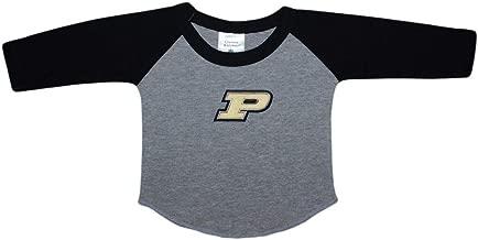 Purdue University Boilermakers Baby and Toddler 2-Tone Raglan Baseball Shirt