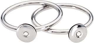Calvin Klein Womens Polished Stainless Steel Jewelry Precious Ring Collection