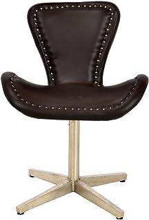 Luxury-Park Moebel Power Aluminium Aircraft revolving Chair Chaise en Cuir