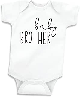 Little Brother Shirt for Boys, Baby Announcement