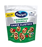 Ocean Spray Cranberry Granola Fruit Clusters, 5 Ounce (Pack of 12)
