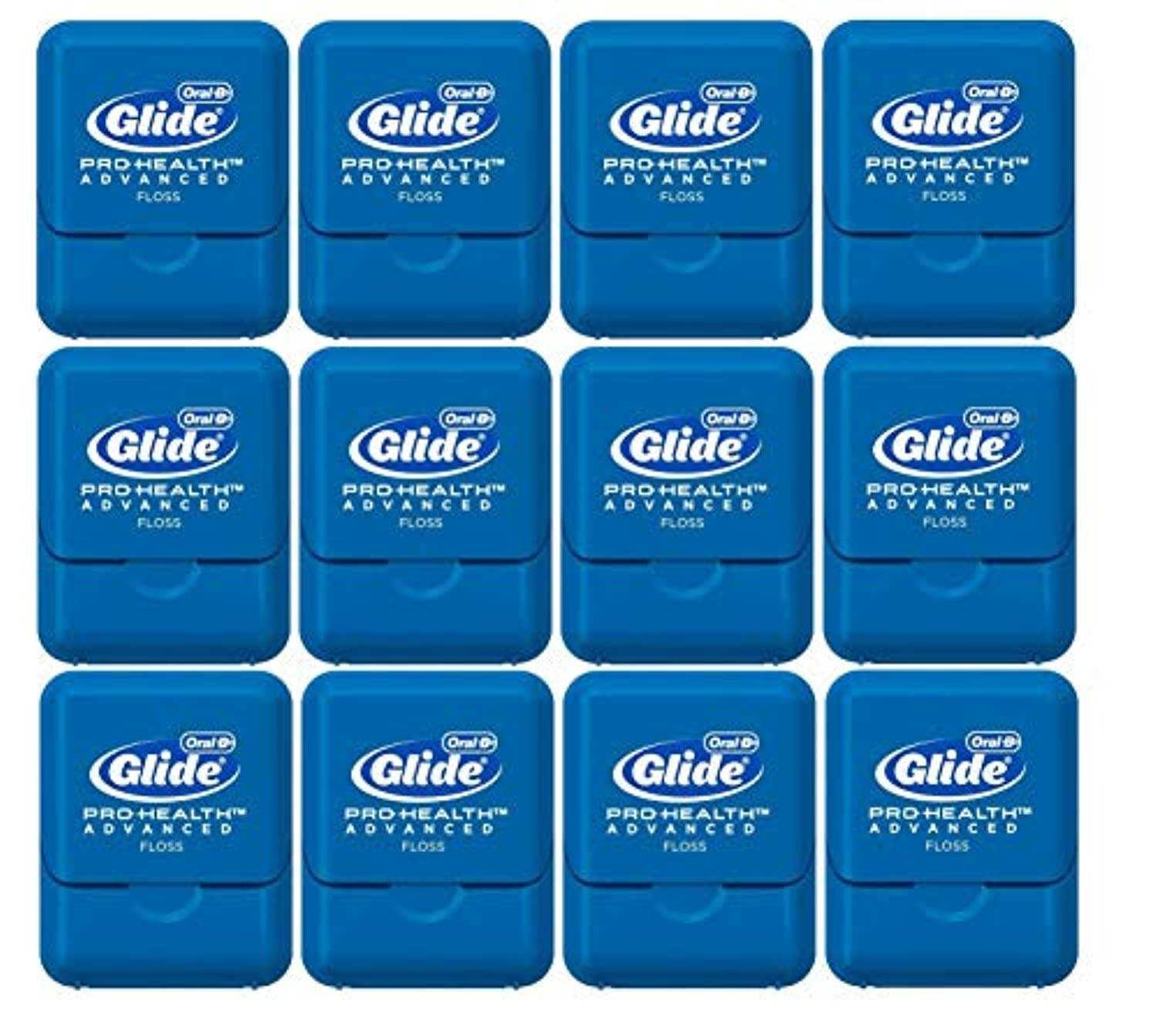 Glide Oral-B Pro-Health Advanced Floss, Small Size 4 meters (4.3 yards) - Pack of 12