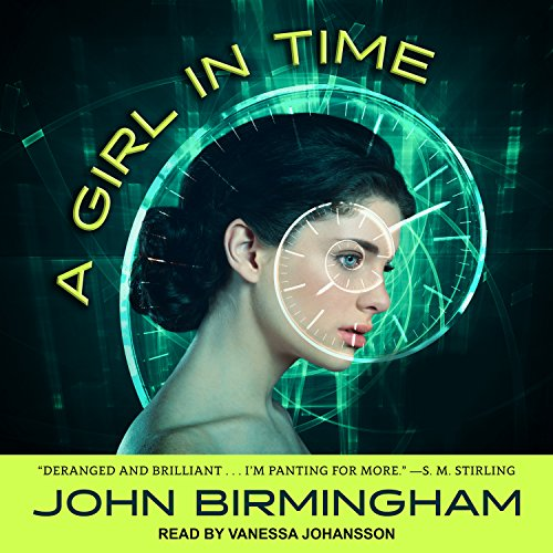 A Girl in Time audiobook cover art