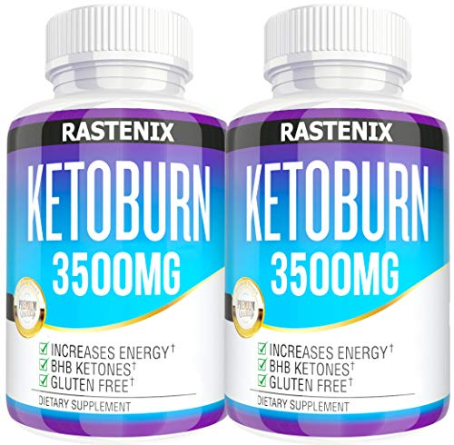 Keto Pills - 3X Potent (2 Pack | 180 Capsules) - Advanced Keto Burn Diet Pills - Boost Energy and Metabolism - Exogenous Keto BHB Supplement for Women and Men (2 Pack)