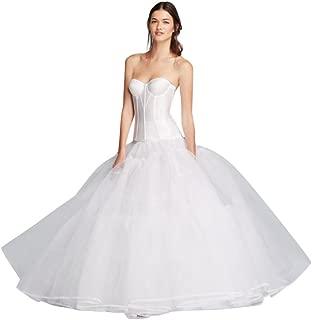 David's Bridal Extreme Ball Gown Hoop Slip Style BGHOOPSLIP