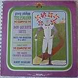 Georg Philipp Telemann Don Quixote Suite (Philips PHC 9003 Stereo)