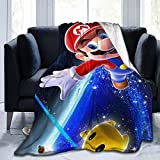 Super Mario Ultra-Soft Micro Fleece Blanket Luxurious, Warm and Comfortable for All Seasons 50'X40'