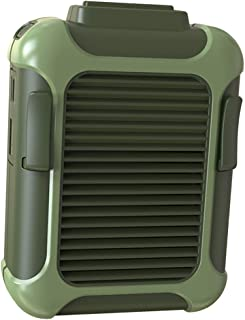 kesoto Ventilador Preguiçoso Recarregável Portátil de Cintura USB Que Pendura Mini Ventilador de Descanso Esportivo - Verde
