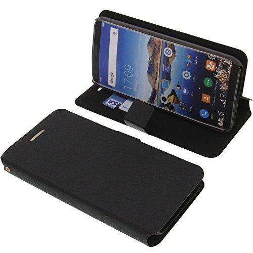 foto-kontor Tasche für Oukitel K5 Book Style schwarz Kreditkarte Schutz Hülle Buch
