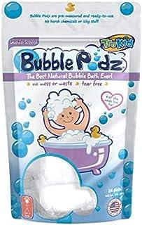 TruKid Bubble Podz, 24-Count, Lavender, Kids Bubble Bath for Sensitive Skin, Bath Bubbles in Water Soluble Pods, Pediatric...