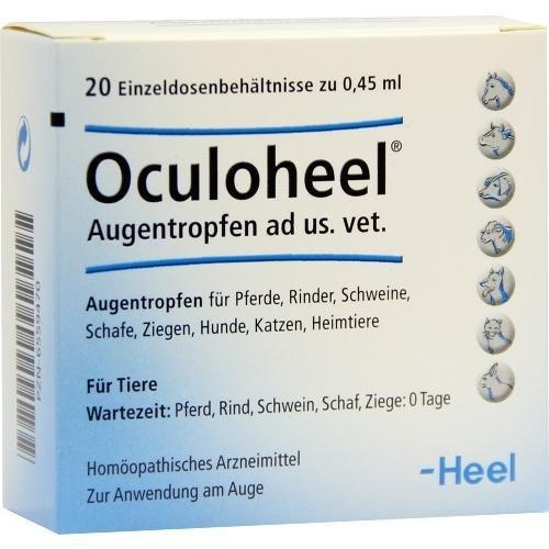 OCULOHEEL Augentropfen ad us.vet.Einzeldosispip. 20 St