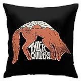 XCNGG Tyler-Childers Funda de Almohada Fundas de Almohada Decorativas Funda de cojín Cuadrada para sofá Muebles para el hogar 18x18 Pulgadas