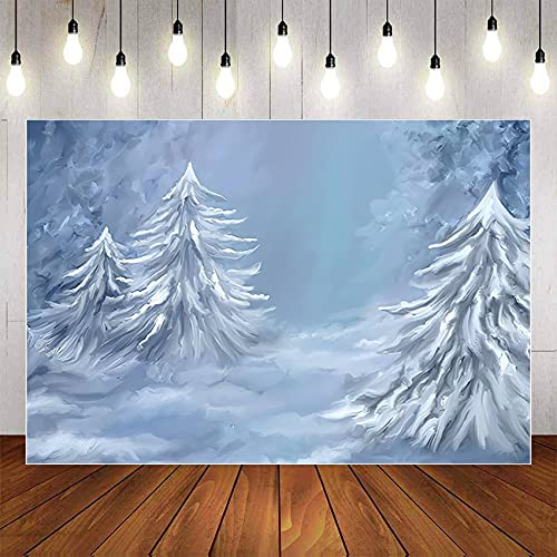 Photography Background Circus Jungle Castle Snow Birthday Party Photophone Backdrop Photo Studio A4 10x7ft/3x2.2m