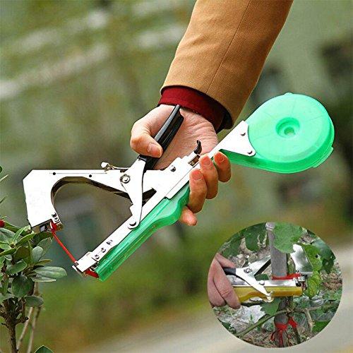 2017Neueste Garten Zubehör Blumen Hand Binden Bindemaschine Garten Pflanzen Gemüse Tapetool