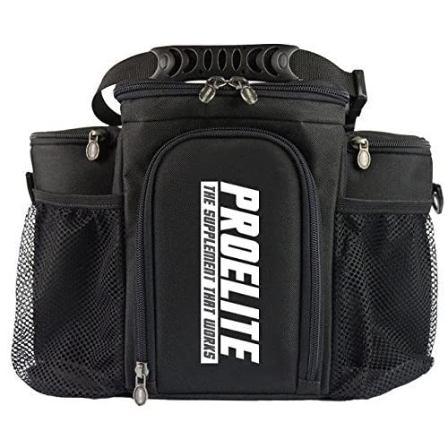 57679a6cc9a ProElite 3 Meal Bag Cool Bag Meal Management System Gym Holdall Food