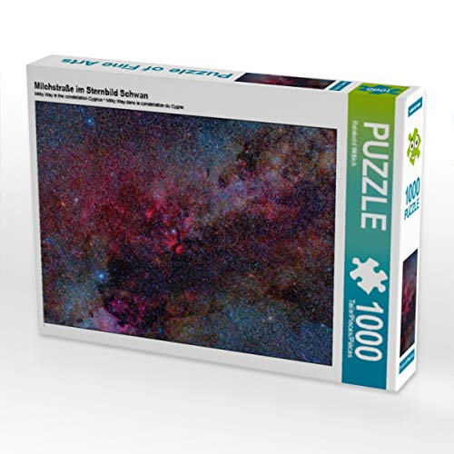 CALVENDO Puzzle Milchstraße im Sternbild Schwan 1000 Teile Lege-Größe 64 x 48 cm Foto-Puzzle Bild von Reinhold Wittich