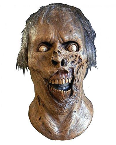 Horror-Shop The Walking Dead Skelett Walker Zombie Maske für Halloween