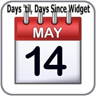 Days 'til, Days Since Widget