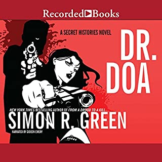 DR. DOA audiobook cover art