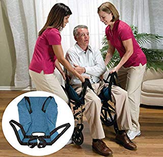 Aid Transfer Lift Sling Nursing Aid Mobility Two-Persons Medical Wheelchair Transfer Belts for Transfers, Secure & Safe Lift for Elderly, Handicapped, Bedridden, Disabled