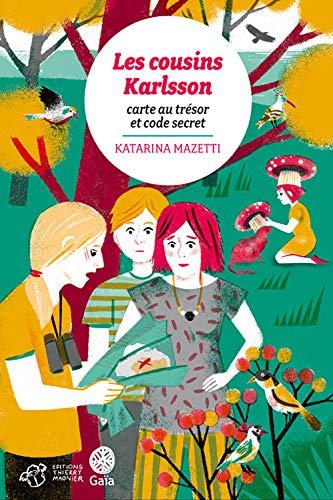 Les cousins karlsson tome 7 - carte au trésor et code secret
