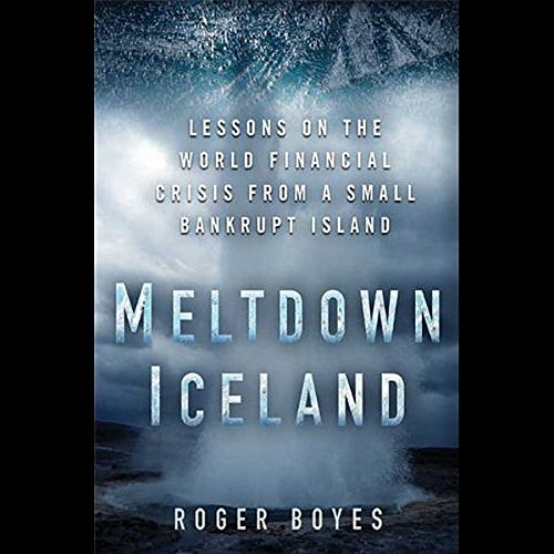 Meltdown Iceland audiobook cover art