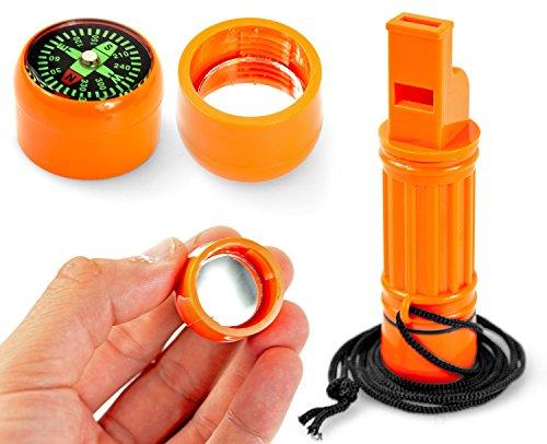 Nerd Clear Notfall-Set Unfall-Hilfe SOS Selbsthilfe Kit 4 Teile für Camping, Wandern, Outdoor und Survival klein und leicht