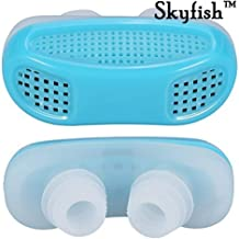 Skyfish® 2 in 1 Anti Snoring and Air Purifier Nose Clip for Prevent Snoring and Comfortable Sleep (Mmulti Color)