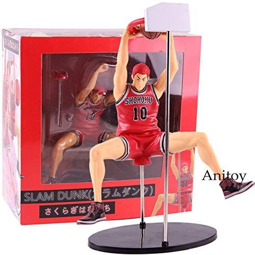 Romantic-Z Slam Dunk Shohoku Rukawa Kaede / Hanamichi Sakuragi Figura Acción PVC Modelo de Juguete de colección, Sakuragi Hanamichi