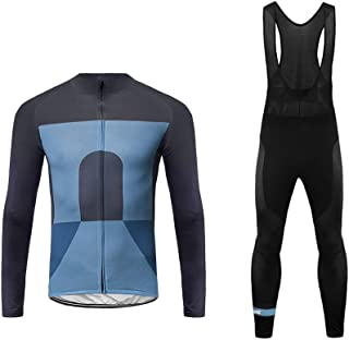 Uglyfrog Newest Fleece Thermal Cycling Jersey Suits Winter Fashion