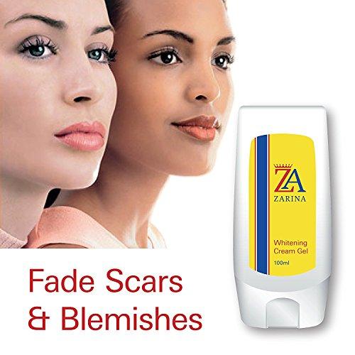 ZARINA (cream-gel) CREME BLANCHISSANTE-GEL PEAU ECLAIRCISSANTE ET BLANCHISSANTE 100% SÛRE FORMULE NATURELLE by Zarina