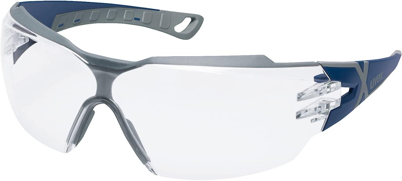 Uvex pheos cx2 Gafas de seguridad - Supravision Excellence - Transparente / azul-gris RT