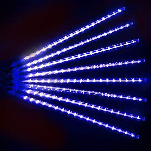 Luces decorativas Luces LED Luces Navidad Luces Habitacion IP65 Impermeable Para Fiestas,Bodas,Festivales,Presentaciones,Bares, Restaurantes, Hoteles, Conciertos ( Color : Blue , Size : 50cm 8 tubes )