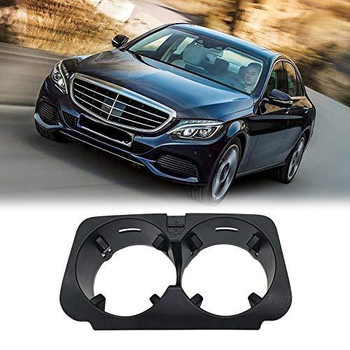 YeBetter Einsatz Rahmen für Mittel Becher Halter für Fahrzeugfront Konsole für Mercedes- C-Klasse W205 E-W213 KZS-W253 V-W447 A2056800691