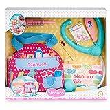 Nenuco-Botiquín de emergencias, Accesorios medicos para muñecos, Regalo Ideal para niñas y niños...