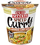 NISSIN Foods Cup Noodles Spiced Curry, 8er Pack (8 x 67 g)