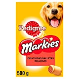 Pedigree Galletas Markies Para Mimar a tu Perro Mediano (Pack De 12 x 500g)