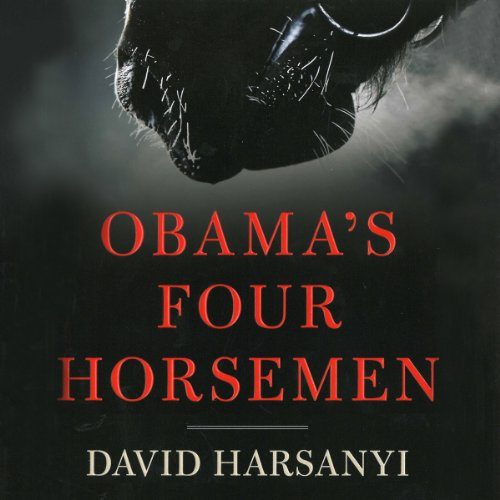 Obama's Four Horsemen audiobook cover art