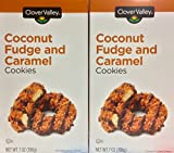 Coconut Fudge and Caramel Cookies 7oz. Just Like Samoas - Pack of 2