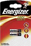 Energizer 27A 12v L828 Pile alcaline pour sonnettes, télécommandes de voiture et autres usages 6 V