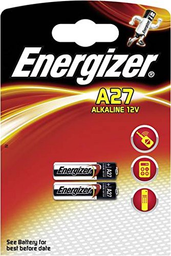 Ein (1) Energizer Alkaline Batterie 27 A L828 12 V Blister Türglocken, Auto Fernbedienungen, Feuerzeuge, Lampen und andere Geräte
