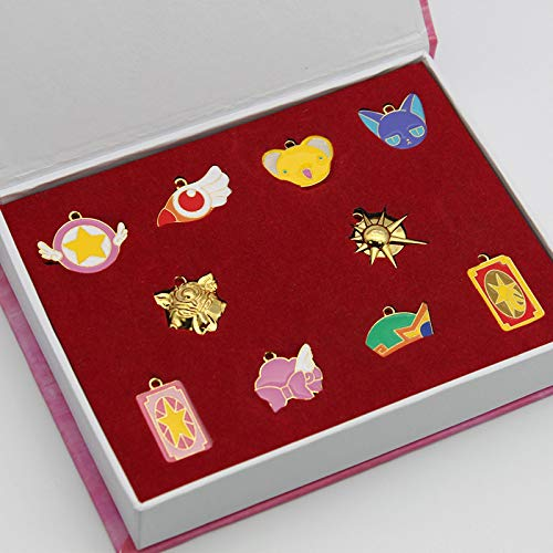 GUOSHUFANG - Colgante de tarjeta captor de sakura
