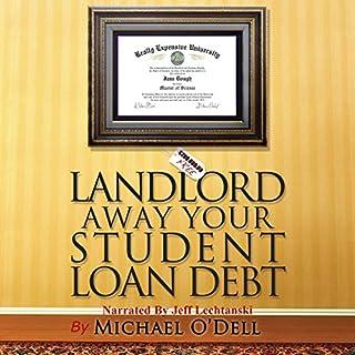 Landlord Away Your Student Loan Debt audiobook cover art