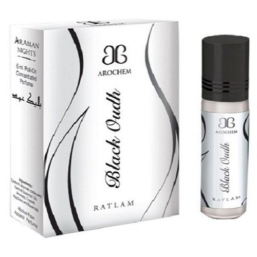 Arochem 'Black Oudh' Apparel Concentrated Perfume Free From Alochol - 6 Ml