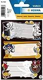 HERMA 5543Nombre de cuaderno etiquetas para la Escuela, diseño de piratas,...