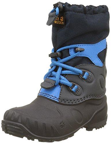 Jack Wolfskin Dziecięce buty zimowe Iceland Passage High K, niebieski - Niebieski Dark Sky 1165-26 EU