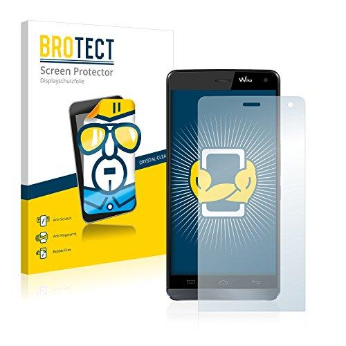 BROTECT Schutzfolie kompatibel mit Wiko Getaway (2 Stück) klare Bildschirmschutz-Folie