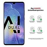 Huawei Mate20 Dual-SIM Smartphone B&le (16,50 Zoll, 128 GB interner Speicher, 4 GB RAM, Android 9.0, EMUI 9.0)twilight+ USB Typ-C-Adapter[Exklusiv bei Amazon] - Deutsche Version